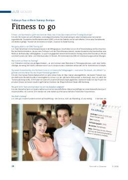 Vorschaubild des Artikels: Fitness to go – Freiburger Paar eröffnete Trainings-Boutique