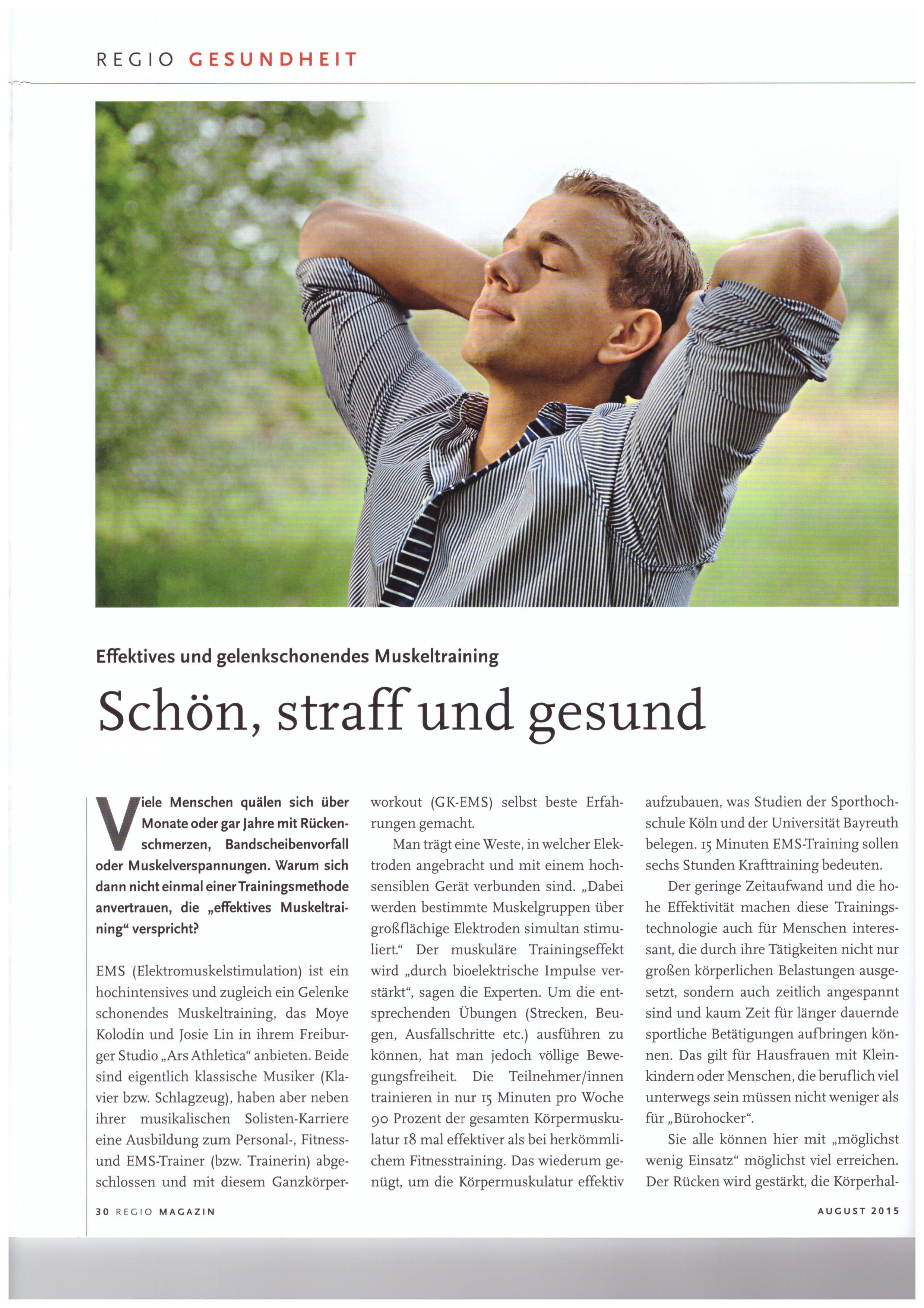 Das Regio Magazin Freiburg hat uns besucht!
